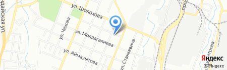 Шахиня на карте Алматы
