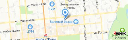 Диагностика на карте Алматы