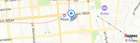 Федерация настольного тенниса Республики Казахстан на карте Алматы