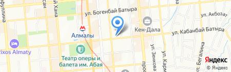 Адмирал Нельсон на карте Алматы