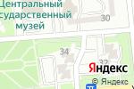 Схема проезда до компании Рапунцель в Алматы