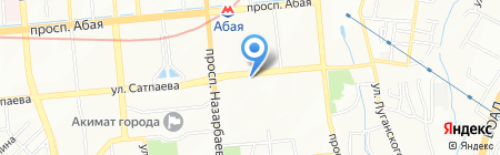 L`OCCITANE на карте Алматы