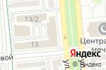 Схема проезда до компании Заман в Алматы