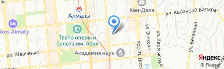 Luxus на карте Алматы