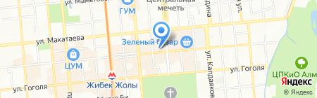 Дина на карте Алматы