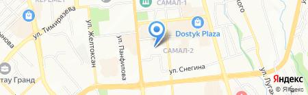 Ойыл на карте Алматы