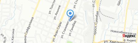 Ratmir logist на карте Алматы