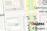 Схема проезда до компании Apple-inc в Алматы