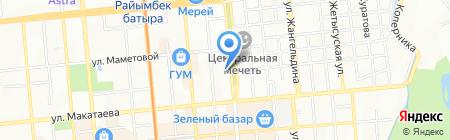 Надин на карте Алматы