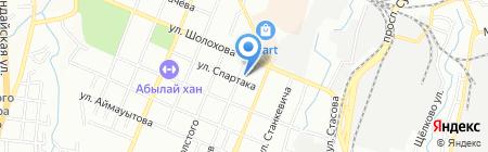 Турксибский районный суд г. Алматы на карте Алматы