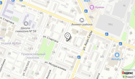 Турксибский районный суд г. Алматы. Схема проезда в Алматы
