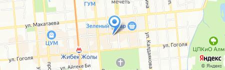 Акжан-Security на карте Алматы
