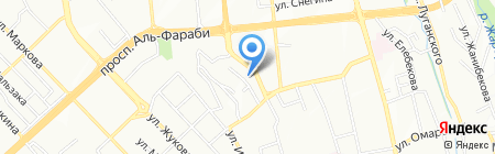 PALLADIUM на карте Алматы