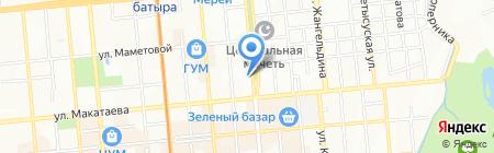 Роза мужской салон красоты на карте Алматы