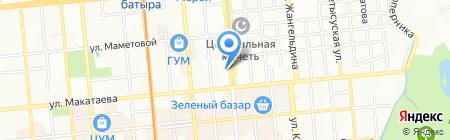 Адвокатский кабинет Нурашевой Б.Ш. на карте Алматы