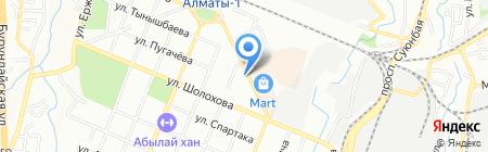 Рыбный магазин №36 на карте Алматы