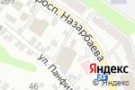 Схема проезда до компании PALLADIUM в Алматы