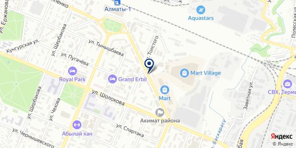 Элайн Плюс, ТОО на карте Алматы