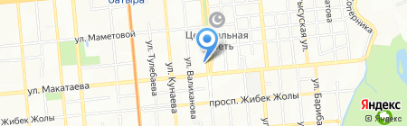 АВАНС Ломбард ТОО на карте Алматы