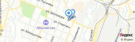 КОММЕСК-ОМИР на карте Алматы