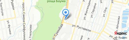 Камилла на карте Алматы