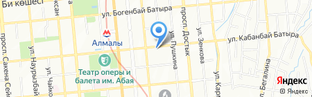 Rising Star на карте Алматы