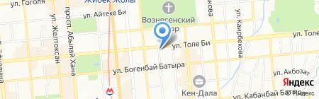 Уют-Казахстан на карте Алматы