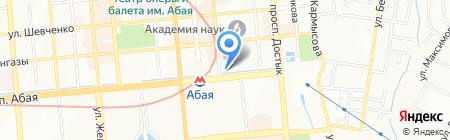 Troya Travel на карте Алматы