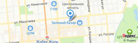 Платежный терминал Евразийский банк на карте Алматы