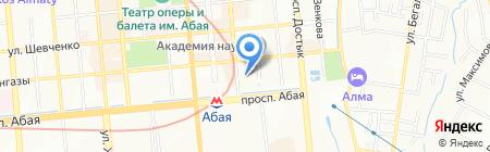 СТИКС на карте Алматы