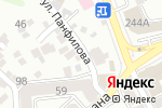 Схема проезда до компании Life 2 Win в Алматы