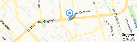 Vegas teracce на карте Алматы