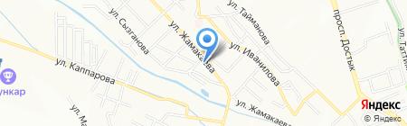 Рай на карте Алматы