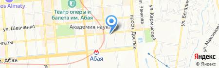 КазИнфоТел на карте Алматы