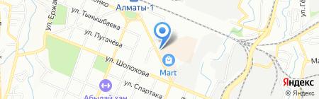 Мир здоровья на карте Алматы