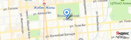 Банкомат Цеснабанк на карте Алматы