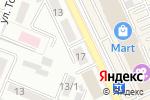Схема проезда до компании Радуга в Алматы