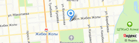 Тим-Дим на карте Алматы