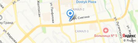 Regent Calderdale на карте Алматы