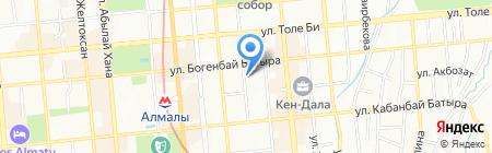 Комплекс услуг пожарной безопасности на карте Алматы