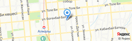 Технострой Групс на карте Алматы