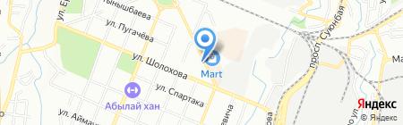 Портал Шамбала на карте Алматы