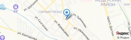 Генеральное консульство Федеративной Республики Германия на карте Алматы