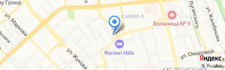 TNS Central Asia на карте Алматы