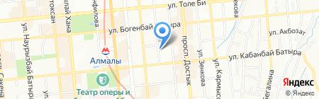 НИИ гидрогеологии и геоэкологии им. У.М. Ахмедсафина на карте Алматы