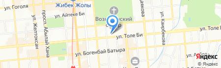Институт педагогики и психологии на карте Алматы