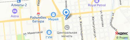 М-Оптика на карте Алматы