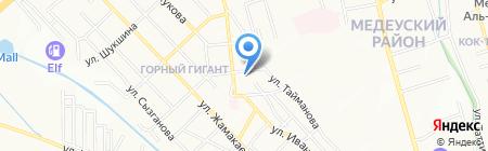 Sun Drilling на карте Алматы