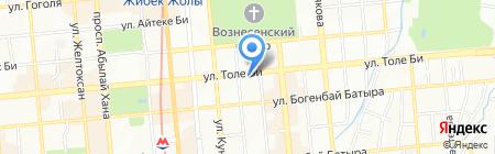 Sine Tempore студия красоты на карте Алматы