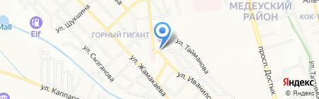 КазПластСервис на карте Алматы